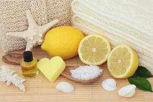 Лимонный пилинг для лица