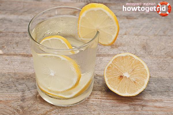 Можно ли натощак пить воду с лимоном