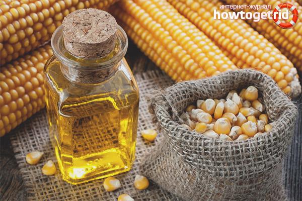 Область использования кукурузного масла в косметологии