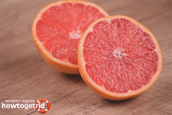 Потенциальная опасность грейпфрута