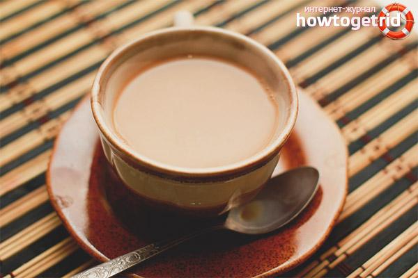 Правила приёма чая с молоком для кормящей мамы