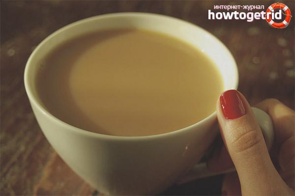 Разгрузочный день на чае с молоком