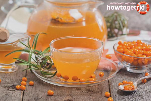 Рецепты чая из облепихи
