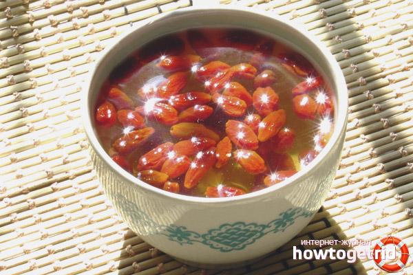 Рецепты по приготовлению чая из ягод годжи