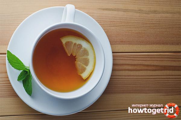 Рецепты заваривания чая с лимоном