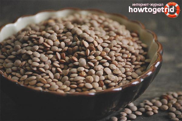 Состав и калорийность чечевицы