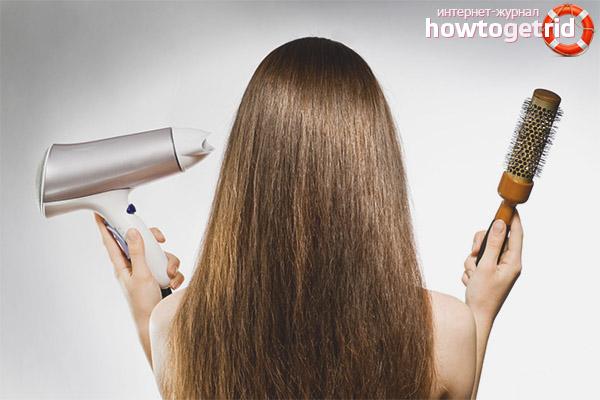 Укладка и сушка волос