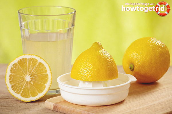 В чём вред лимонного сока для организма