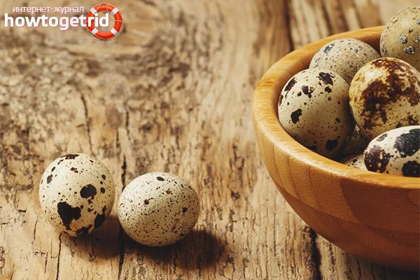Влияние перепелиных яиц на мужчин