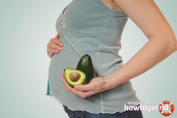 Воздействие авокадо на беременных