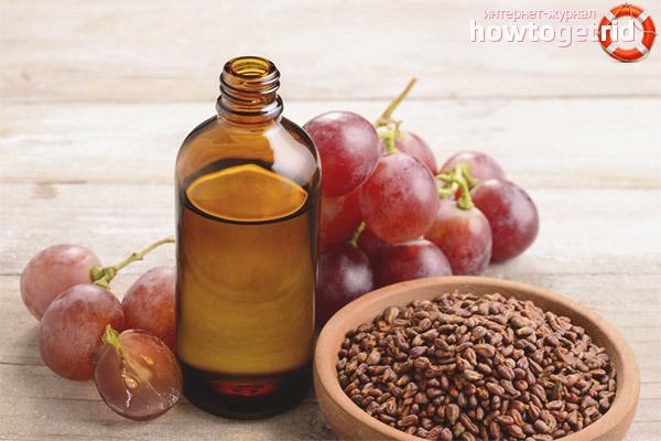 Что лечат с помощью виноградного масла