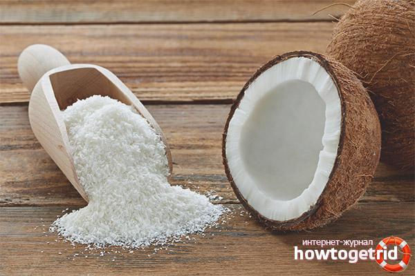 Как правильно выбирать кокосовую стружку