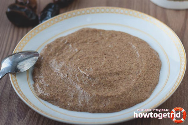 Как приготовить льняную кашу