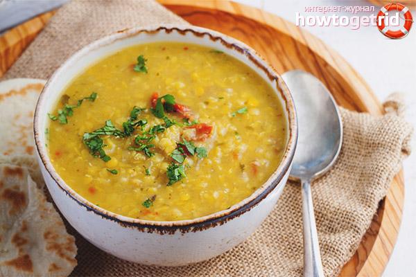 Как приготовить необычный суп с горохом