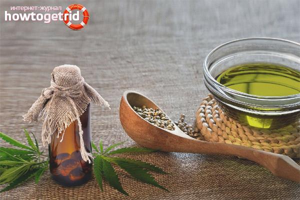 Как применяют масло конопли в медицине