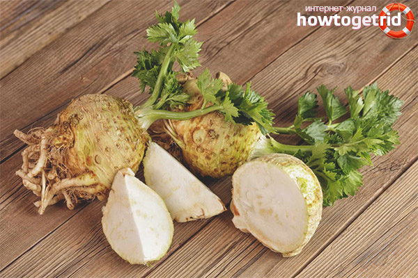 Как употреблять корневой сельдерей в пищу