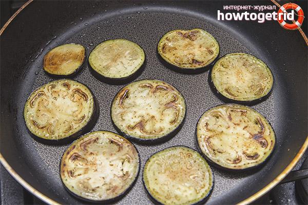Как вкусно приготовить баклажаны на сковороде