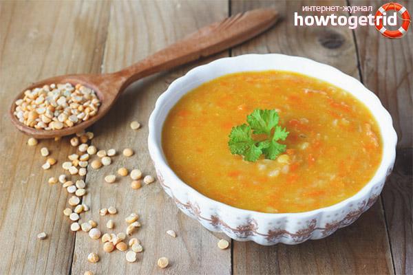 Лёгкий гороховый суп