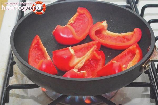 Общие рекомендации по приготовлению перцев