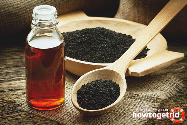 Пищеварительный тракт и масло черного тмина