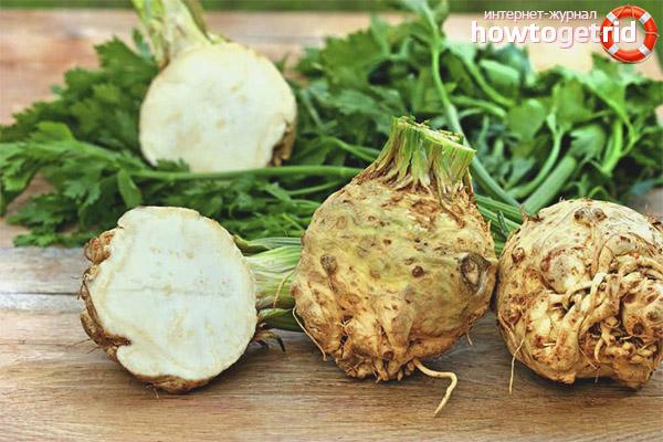 Полезные рецепты с корневым сельдереем