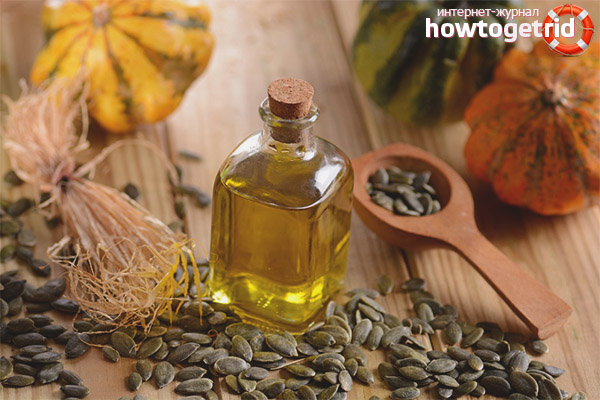 Польза тыквенного масла для женщин