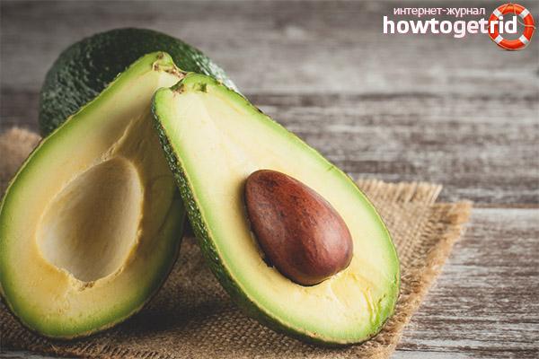 Применение косточки авокадо
