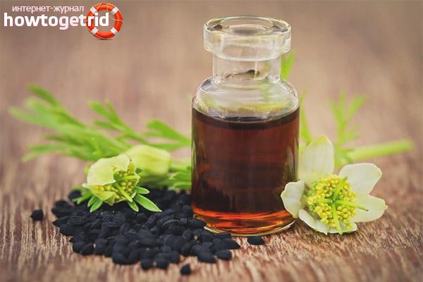 Противоопухолевое действие и масло черного тмина