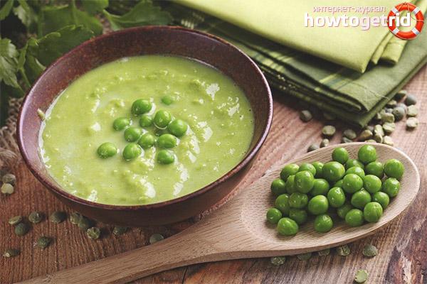 Рецепты супов-пюре из гороха