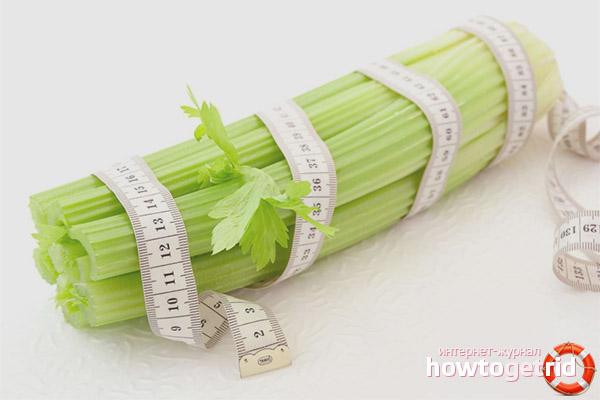 Сельдерей при снижении веса