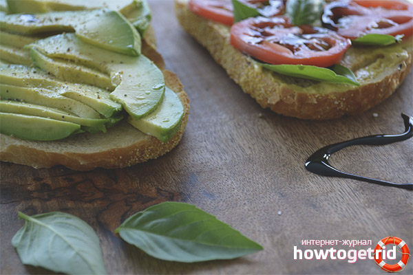 Воздействие бутербродов с авокадо на организм
