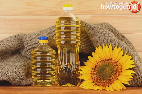 Вред и противопоказания подсолнечного масла