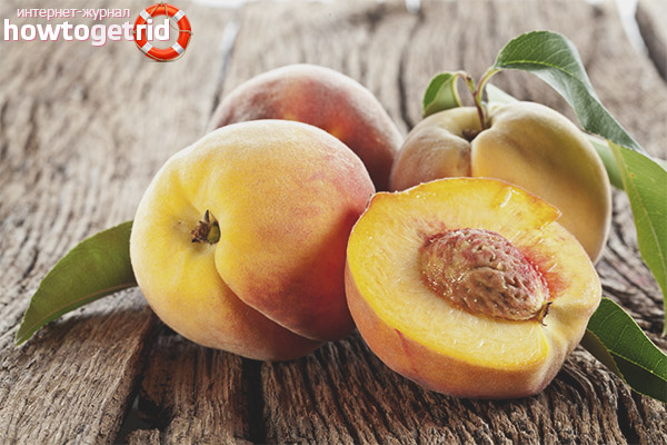 Как персики влияют на организм