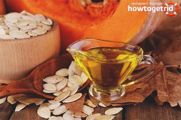 Как пить тыквенное масло от простатита