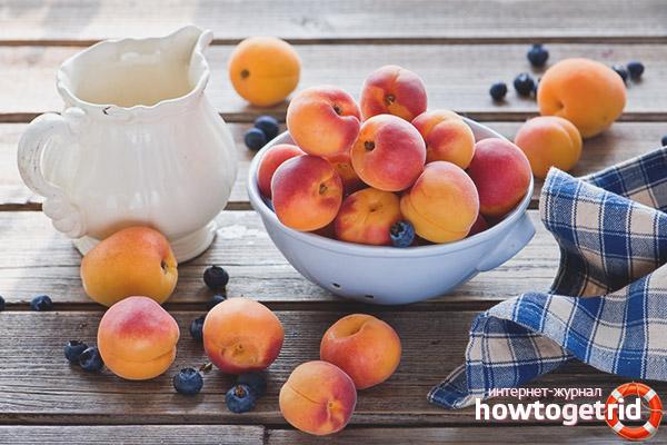 Как правильно готовить и кушать персики