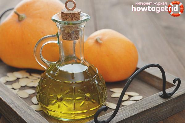 Как принимать тыквенное масло при простатите