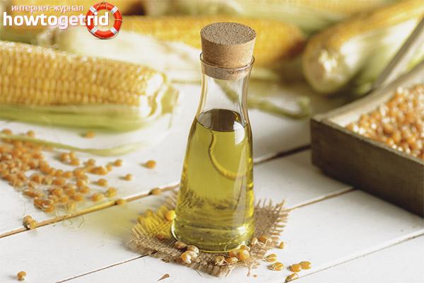 Можно ли жарить на кукурузном масле