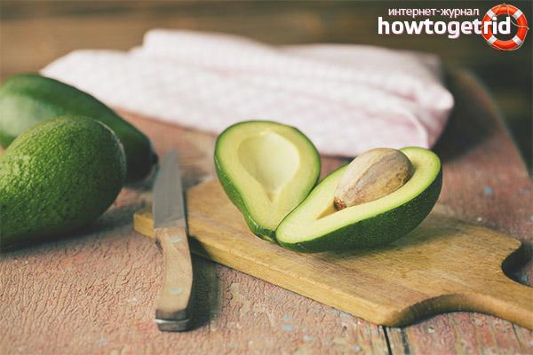 Применение авокадо для снижения веса
