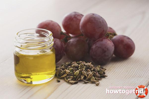 Рецепты масок для волос с маслом виноградных косточек