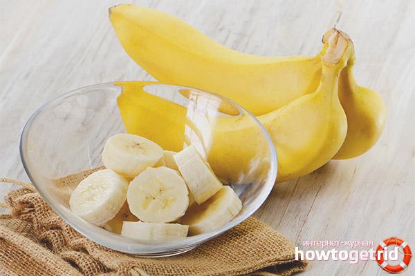 Бананы при диарее