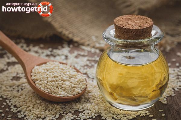 Использование кунжутного масла в кулинарных целях