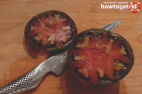 Отзывы о томате Слива черная