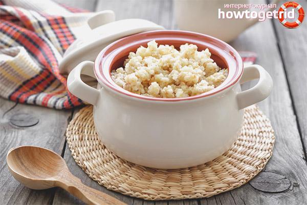 Рецепты полезной пшеничной каши