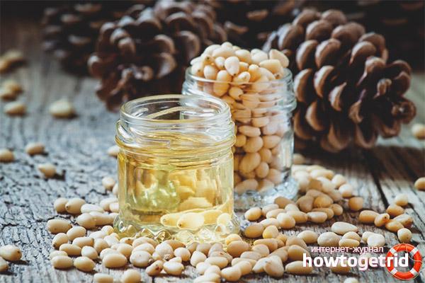 Вред масла кедровых орехов