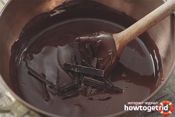 Как из горького шоколада сделать молочный