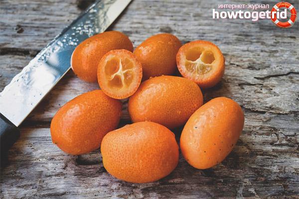 Китайский апельсин в кулинарии