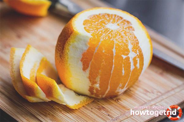 Польза апельсиновых корок