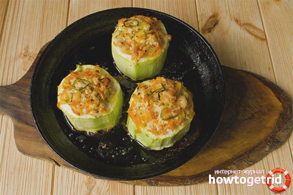 Рецепты блюд с кабачками