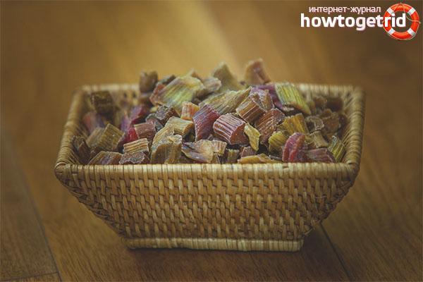 Рецепты цукат из ревеня