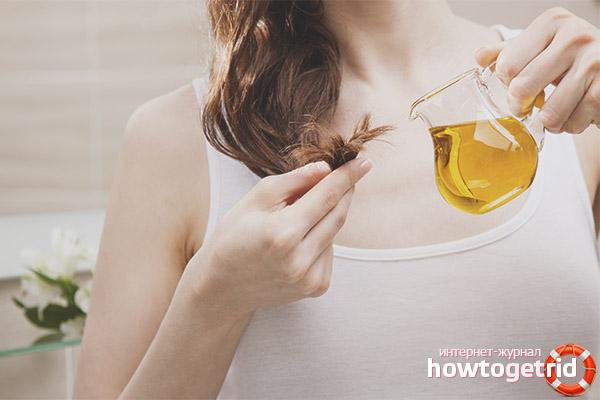 Рецепты для волос с подсолнечным маслом